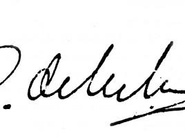 di malan signature