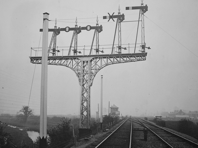 Allbrook Junction Heavy typesignals